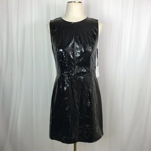 Sz 2 1. State Patent Leather Sleeveless Dress